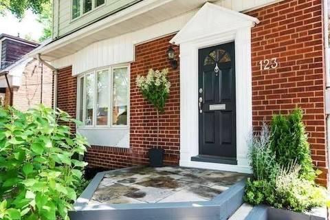 House for rent at 123 Leacrest Rd Toronto Ontario - MLS: C4698179