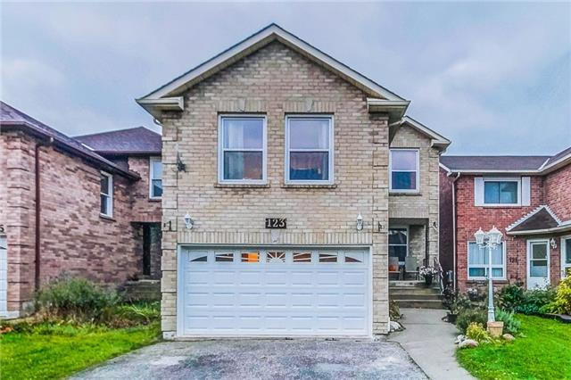 House for sale at 123 Mullen Drive Ajax Ontario - MLS: E4292456