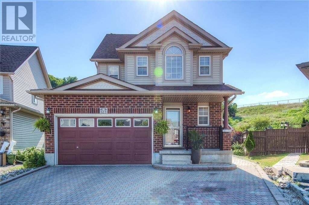 House for sale at 123 Prosperity Dr Kitchener Ontario - MLS: 30820081