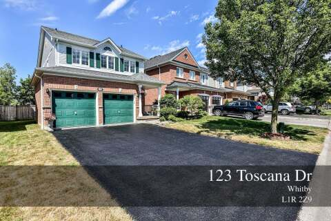 House for sale at 123 Toscana Dr Whitby Ontario - MLS: E4807823
