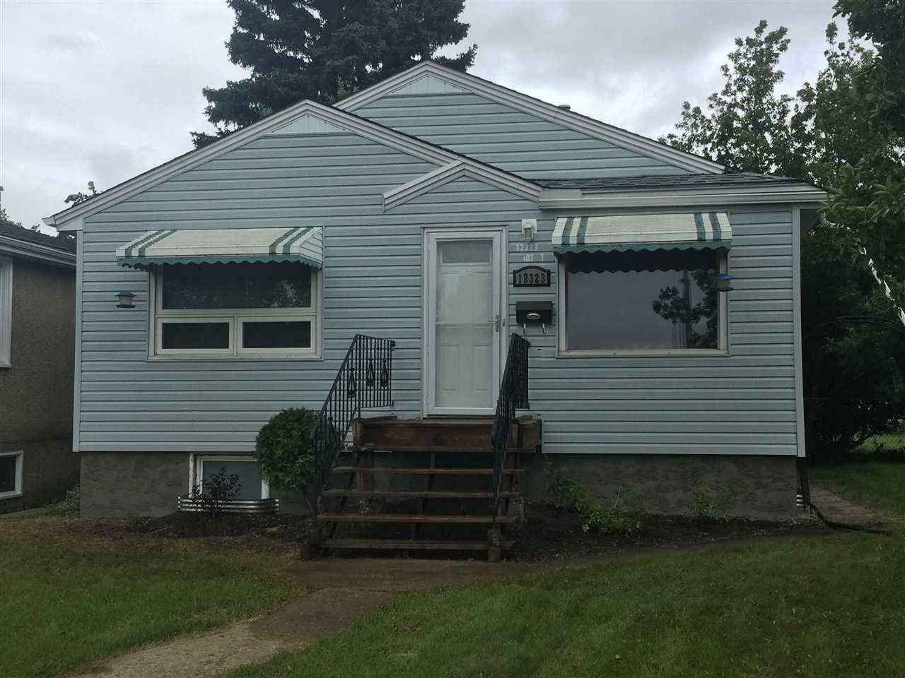 House for sale at 12323 107 St Nw Edmonton Alberta - MLS: E4171123