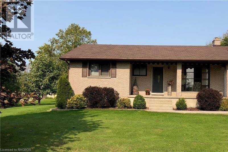 House for sale at 1236 South Line Line Kincardine Ontario - MLS: 40018639