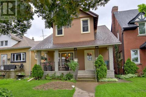 House for sale at 1237 Pelissier  Windsor Ontario - MLS: 19020064