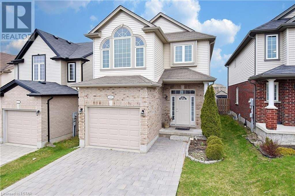 House for sale at 1237 Whetherfield St London Ontario - MLS: 255386