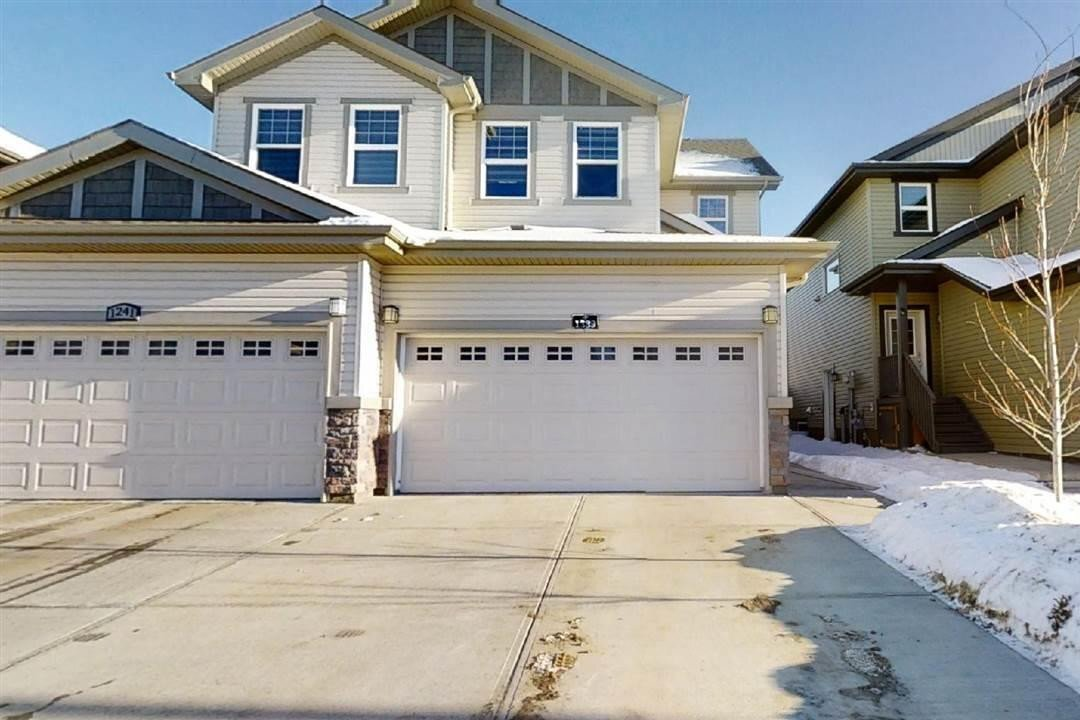 Townhouse for sale at 1239 27 St NW Edmonton Alberta - MLS: E4222226