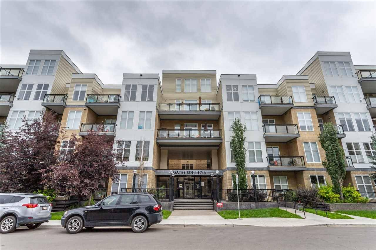 Condo for sale at 10531 117 St Nw Unit 124 Edmonton Alberta - MLS: E4167098