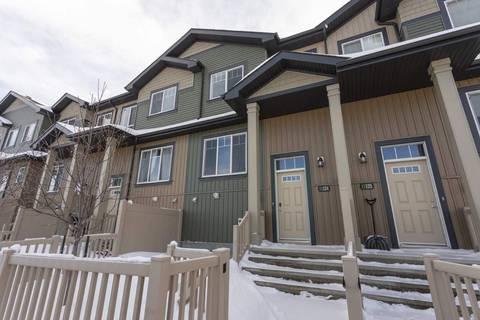 Townhouse for sale at 3305 Orchards Li Sw Unit 124 Edmonton Alberta - MLS: E4160092