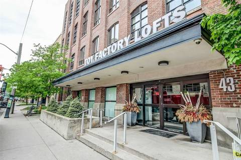 Apartment for rent at 43 Hanna Ave Unit 124 Toronto Ontario - MLS: C4737380