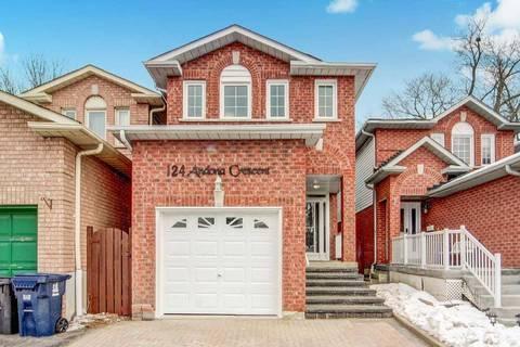 House for sale at 124 Andona Cres Toronto Ontario - MLS: E4693235