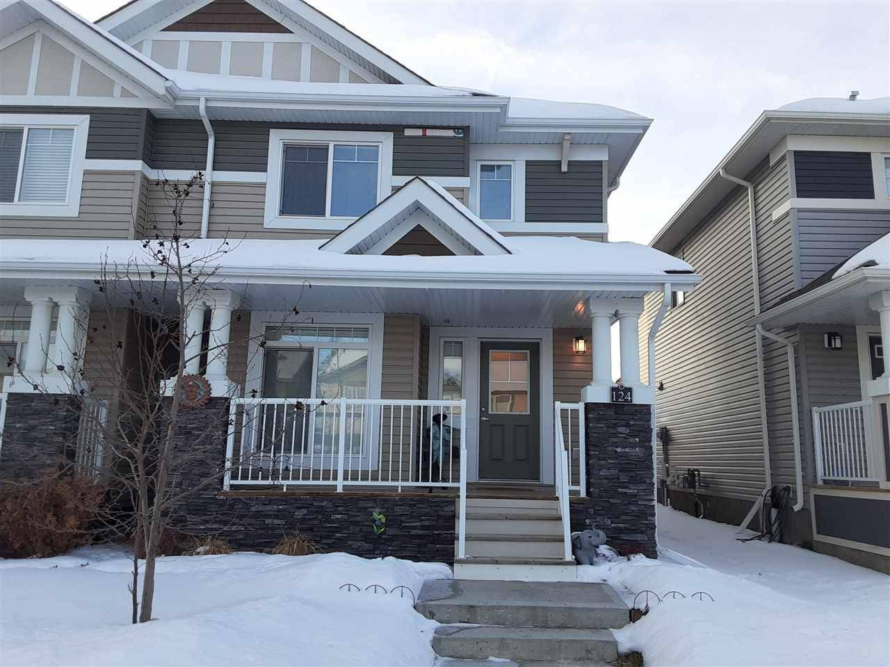 Townhouse for sale at 124 Cy Becker Blvd Nw Edmonton Alberta - MLS: E4186336