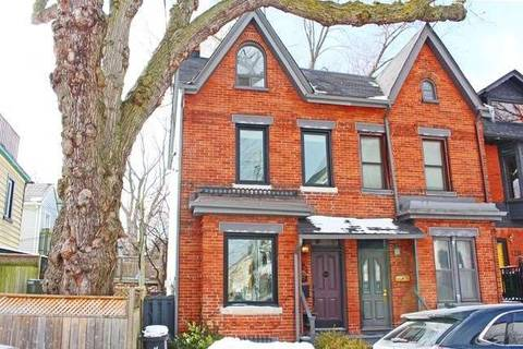 Townhouse for rent at 124 De Grassi St Toronto Ontario - MLS: E4376538