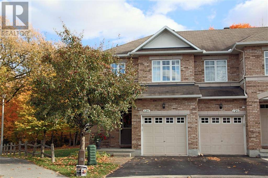 Townhouse for sale at 124 Gatespark Pt Ottawa Ontario - MLS: 1173092