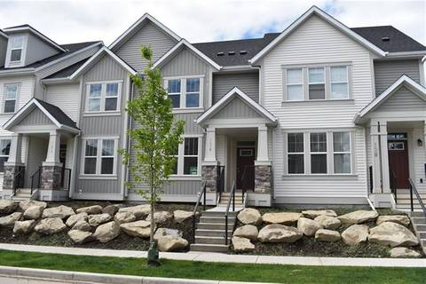 Townhouse for sale at 124 Southpoint Ct Southwest Airdrie Alberta - MLS: C4254150