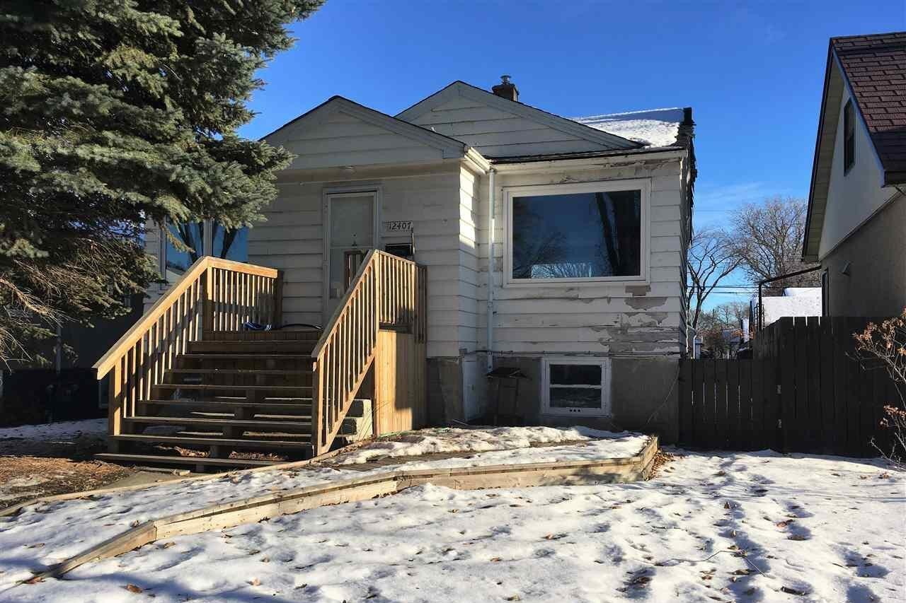 House for sale at 12407 93 St NW Edmonton Alberta - MLS: E4219734