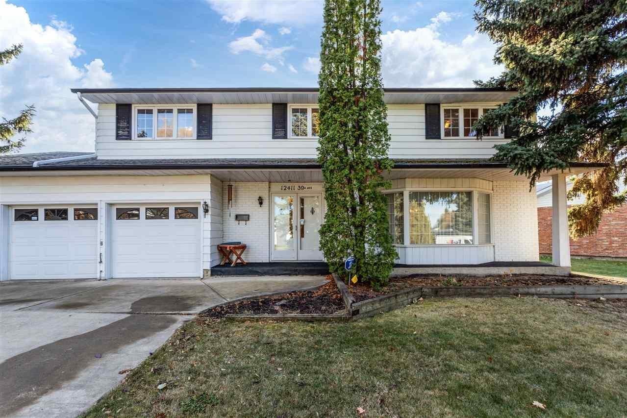 House for sale at 12411 39a Av NW Edmonton Alberta - MLS: E4219554