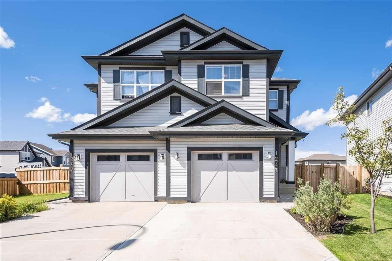 Townhouse for sale at 1247 Mcconachie Bv NW Edmonton Alberta - MLS: E4206094