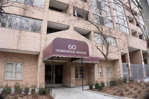 Condo for sale at 60 Homewood Ave Unit 125 Toronto Ontario - MLS: C4726502