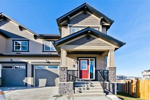 Townhouse for sale at 125 Hillcrest Sq Southwest Airdrie Alberta - MLS: C4217602
