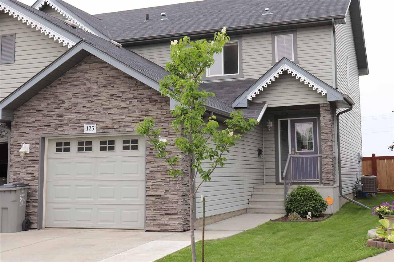 Townhouse for sale at  125 Rue Beaumont Alberta - MLS: E4165626
