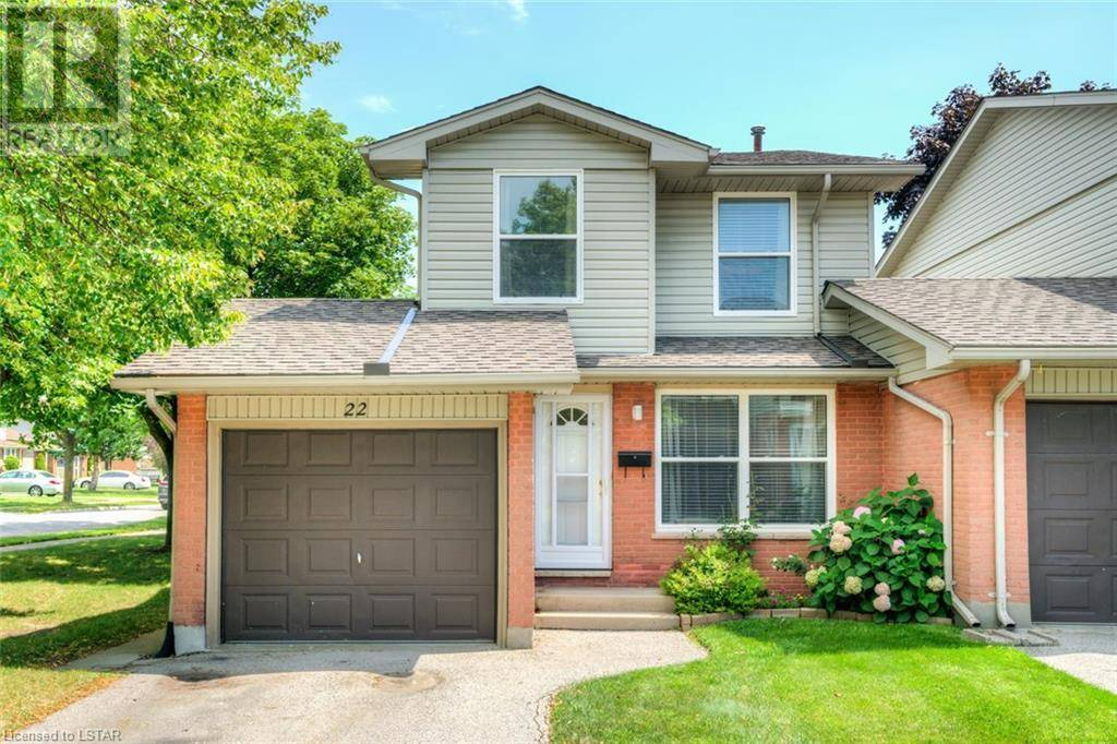 Townhouse for sale at 22 Jalna Blvd Unit 1250 London Ontario - MLS: 216544