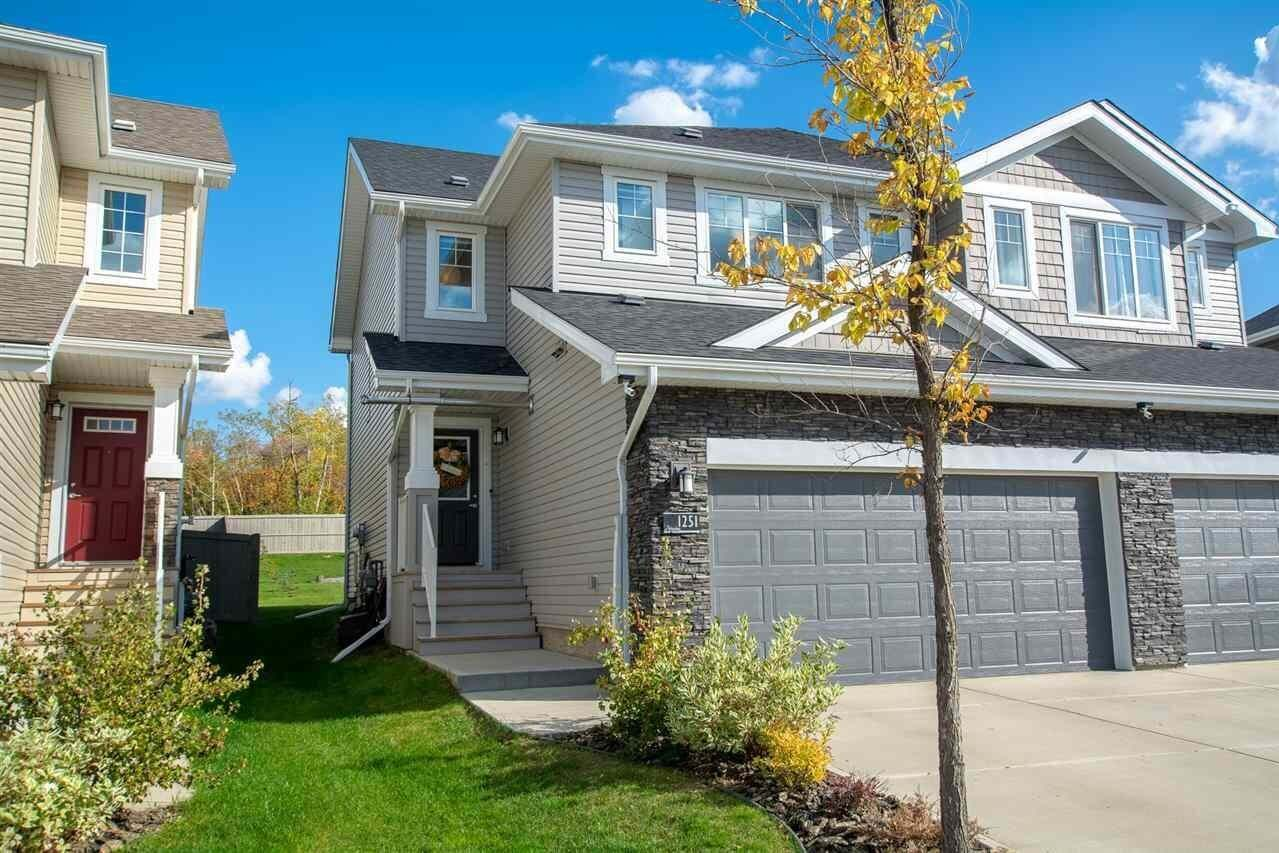 Townhouse for sale at 1251 Starling Dr NW Edmonton Alberta - MLS: E4194192
