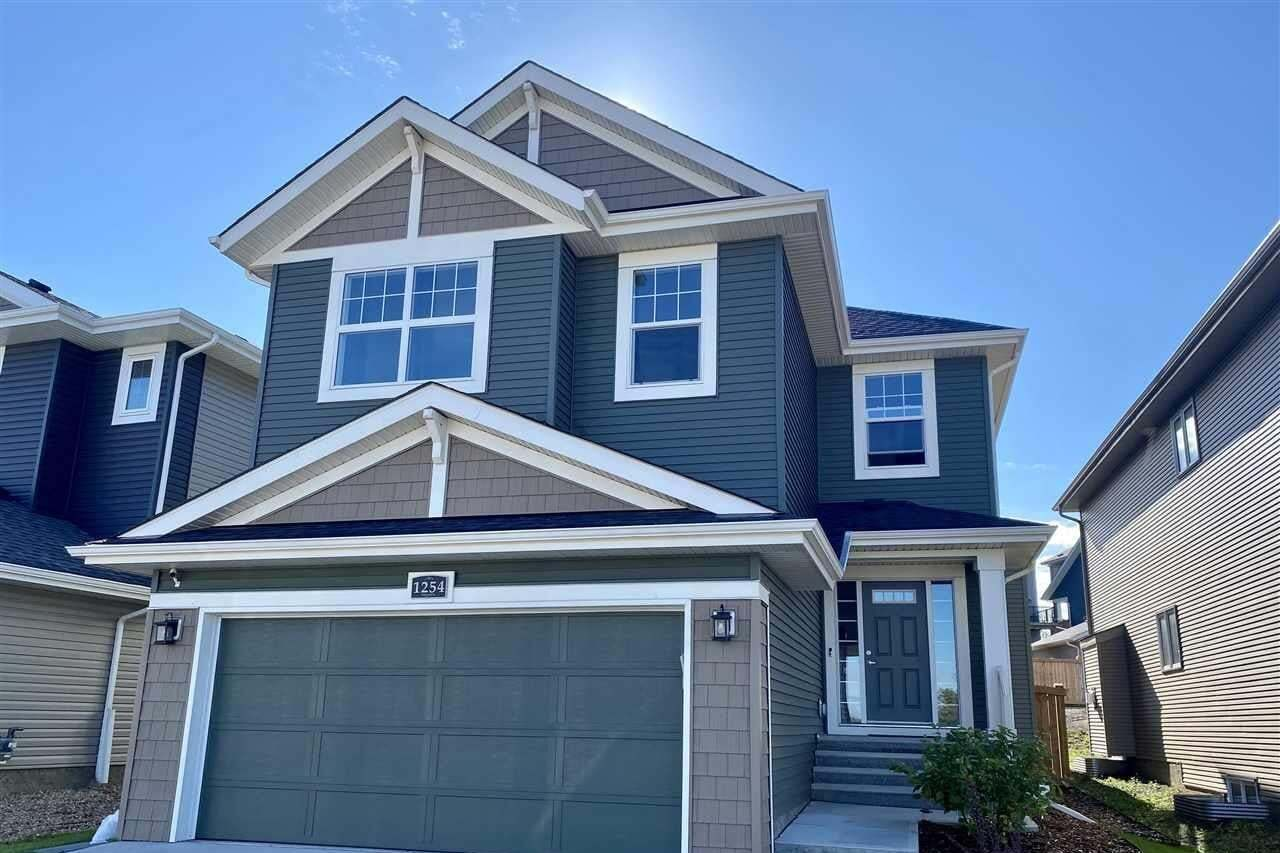 House for sale at 1254 Peregrine Tc NW Edmonton Alberta - MLS: E4211748
