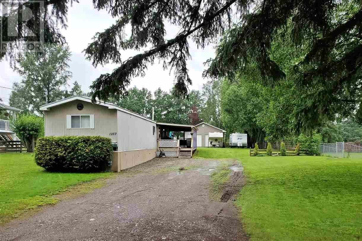 Home for sale at 1257 Mountain Ash Rd Quesnel British Columbia - MLS: R2473335