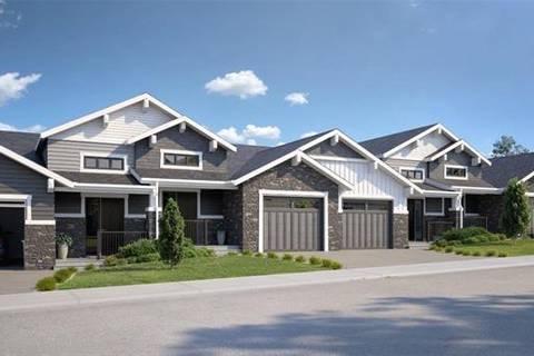 Townhouse for sale at 12574 Crestmont Blvd Southwest Calgary Alberta - MLS: C4236087