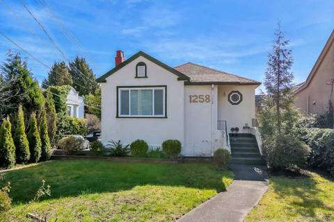 House for sale at 1258 Park Dr Vancouver British Columbia - MLS: R2444905