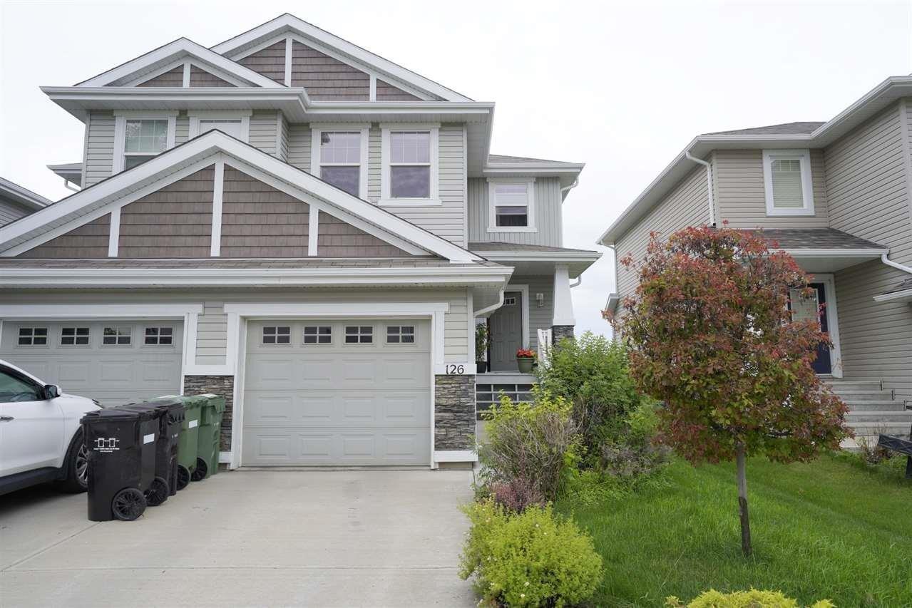 Townhouse for sale at 126 Keystone Cr Leduc Alberta - MLS: E4207160