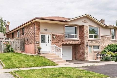 Townhouse for sale at 126 Orsett St Oakville Ontario - MLS: W4491036