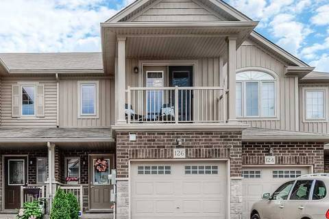 Townhouse for sale at 126 Rochefort St Kitchener Ontario - MLS: X4546866