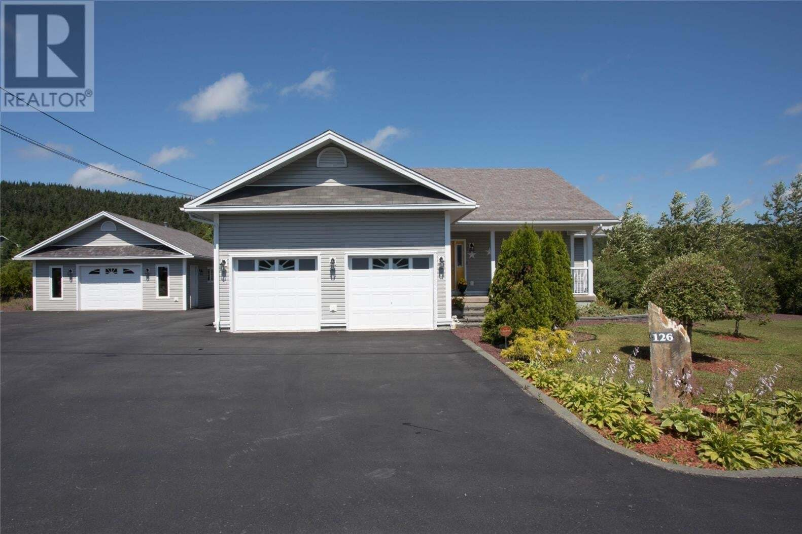 House for sale at 126 Valley Rd Carbonear Newfoundland - MLS: 1213845