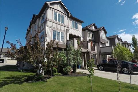 Townhouse for sale at 126 Windstone Cres Southwest Airdrie Alberta - MLS: C4254684