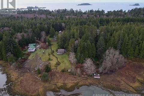 House for sale at 1260 Pacific Rim Hy Tofino British Columbia - MLS: 449654