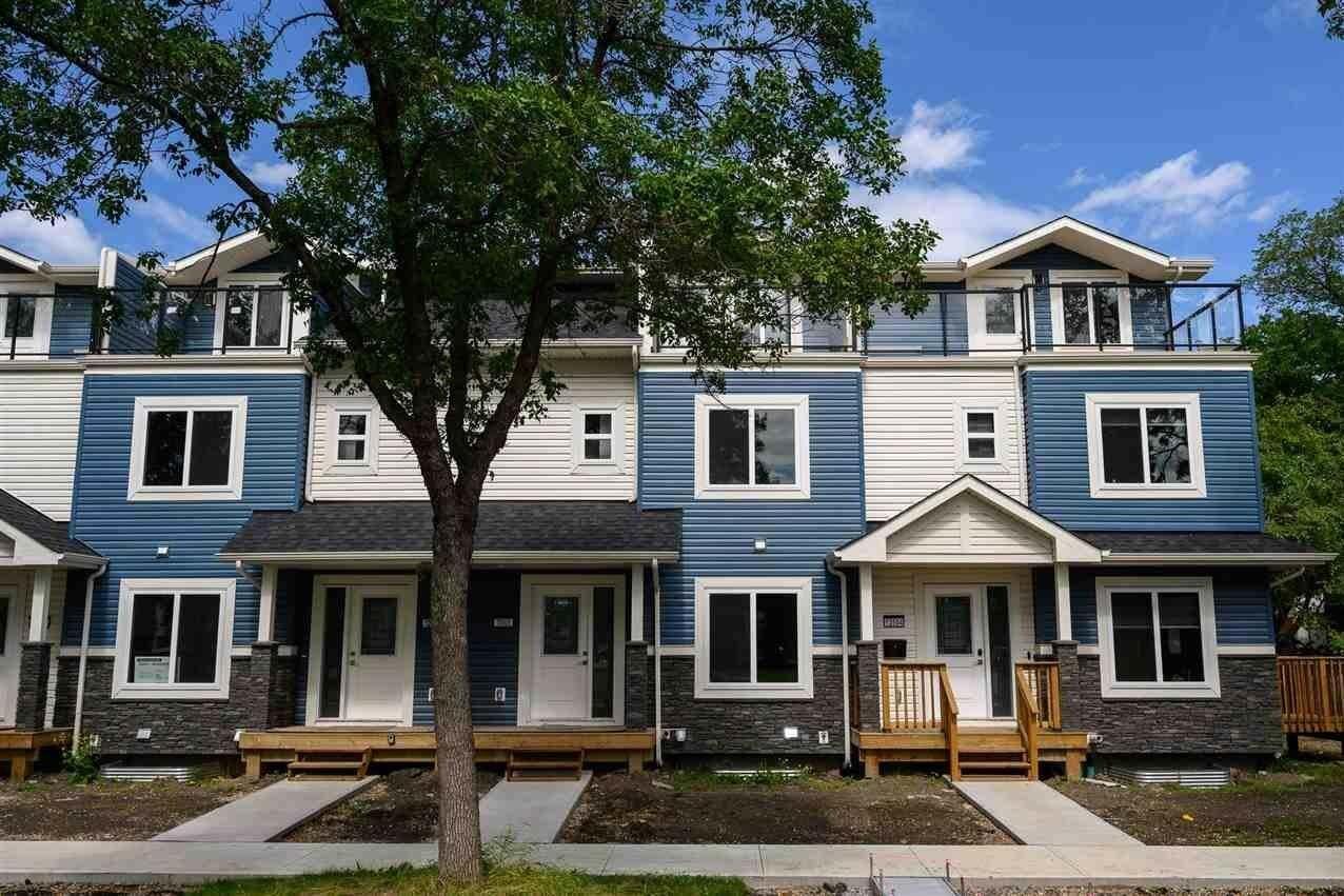 Townhouse for sale at 12606 116 Av NW Edmonton Alberta - MLS: E4210308