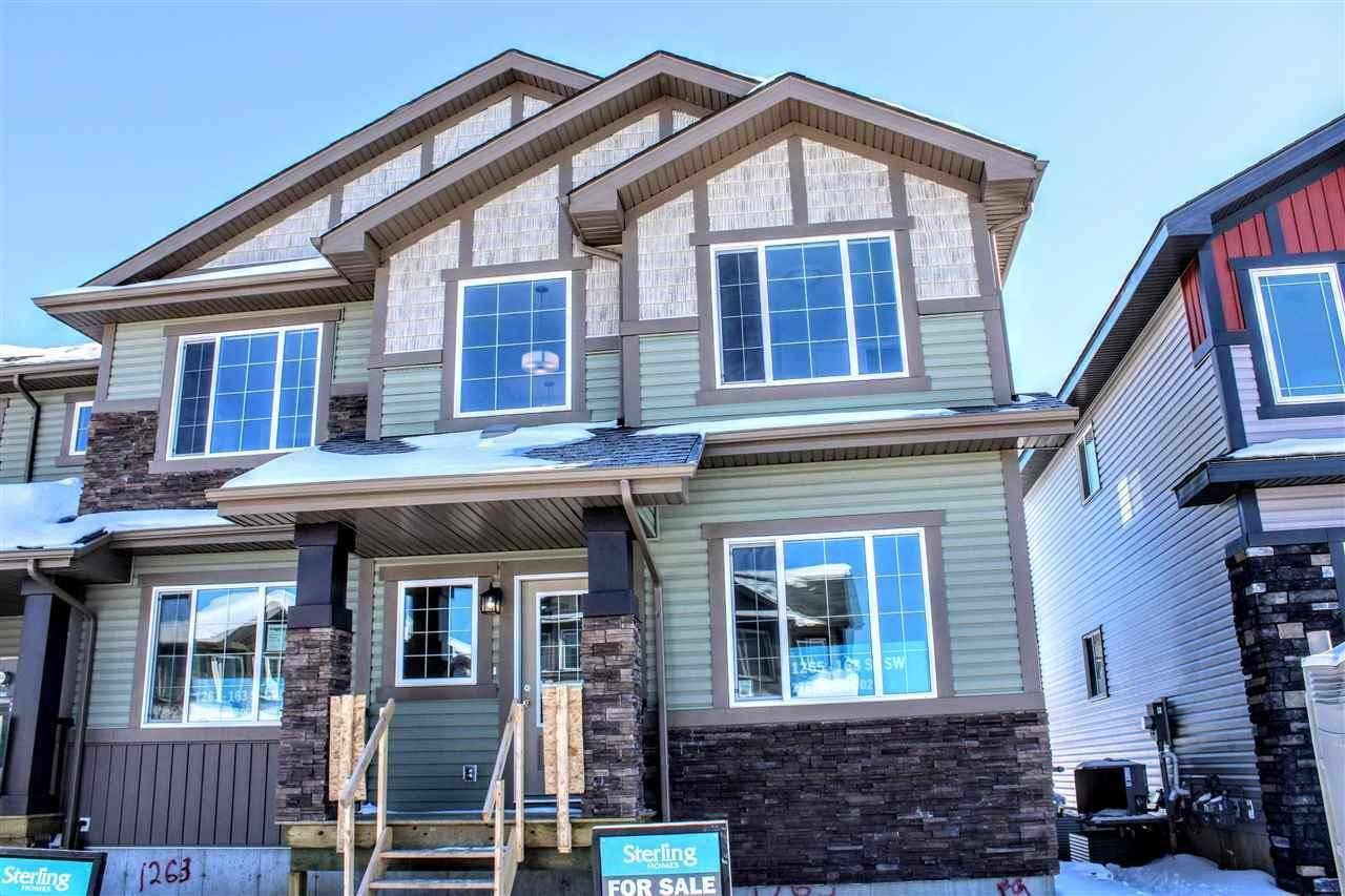 House for sale at 1261 163 St Sw Edmonton Alberta - MLS: E4174644