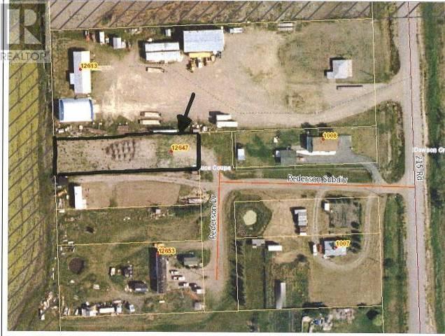 Residential property for sale at 12647 Pederson Subdivision Dawson Creek British Columbia - MLS: 179419