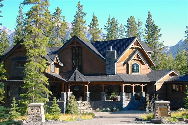 For Sale: 127 Cairns Landing, Canmore, AB | 4 Bed, 6 Bath House for $4,995,000. See 47 photos!