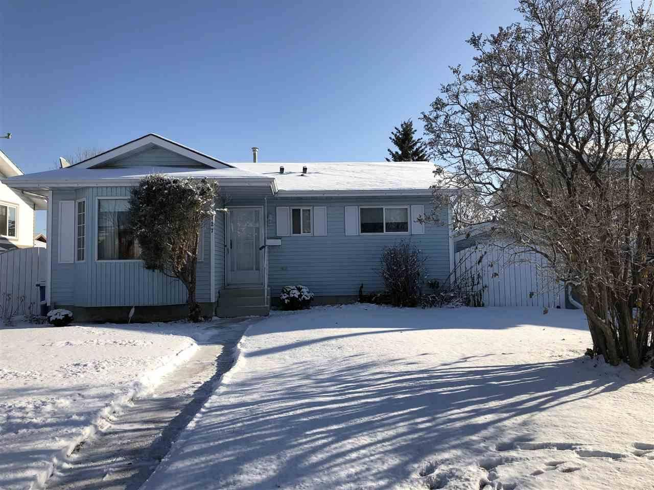 House for sale at 127 Cameron Cres Wetaskiwin Alberta - MLS: E4157765