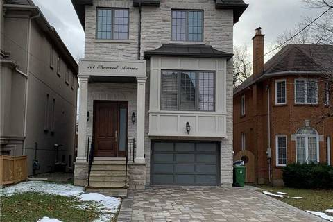 House for rent at 127 Elmwood Ave Toronto Ontario - MLS: C4660162