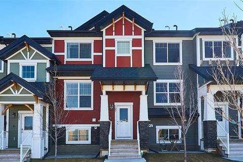 Townhouse for sale at 127 Nolan Hill Blvd Northwest Calgary Alberta - MLS: C4261740
