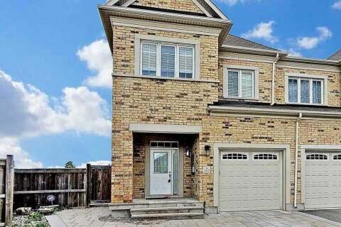 Townhouse for sale at 127 Staglin Ct Markham Ontario - MLS: N4777142