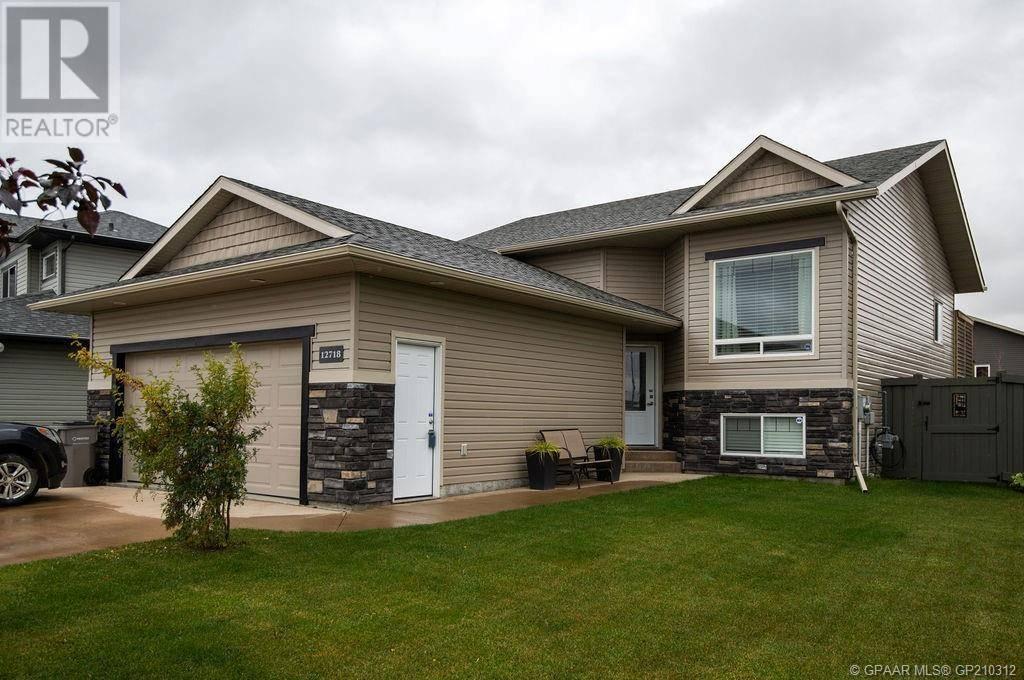 House for sale at 12718 105 St Grande Prairie Alberta - MLS: GP210312