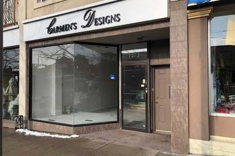 Commercial property for lease at 1272 St Clair Ave Toronto Ontario - MLS: W4777402