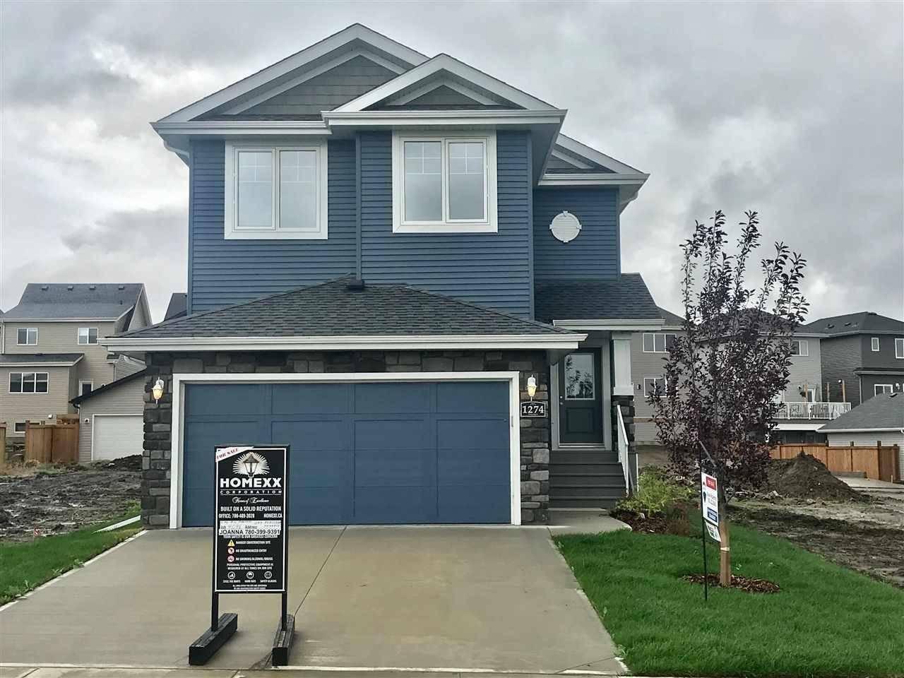 House for sale at 1274 Peregrine Te Nw Edmonton Alberta - MLS: E4169587