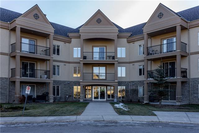 For Sale: 128 - 30 Cranfield Link Southeast, Calgary, AB | 1 Bed, 1 Bath Condo for $209,900. See 20 photos!