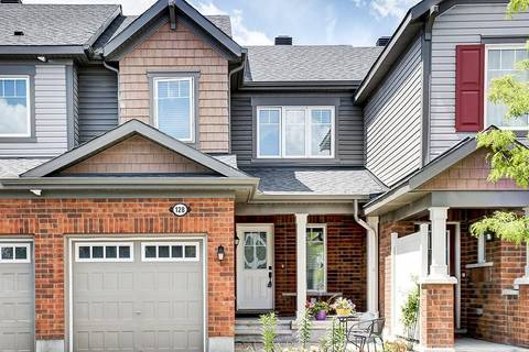 Townhouse for sale at 128 Conifer Creek Circ Ottawa Ontario - MLS: 1157089