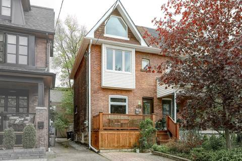Townhouse for sale at 128 Fulton Ave Toronto Ontario - MLS: E4459777