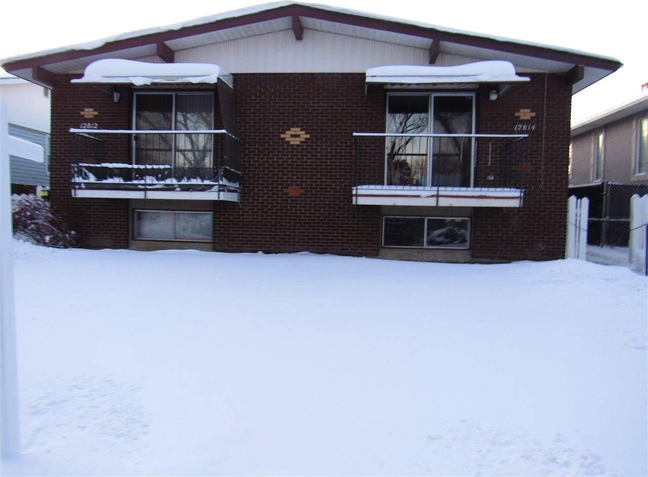 Townhouse for sale at  125 St Nw Unit 12812 12814 Edmonton Alberta - MLS: E4176546